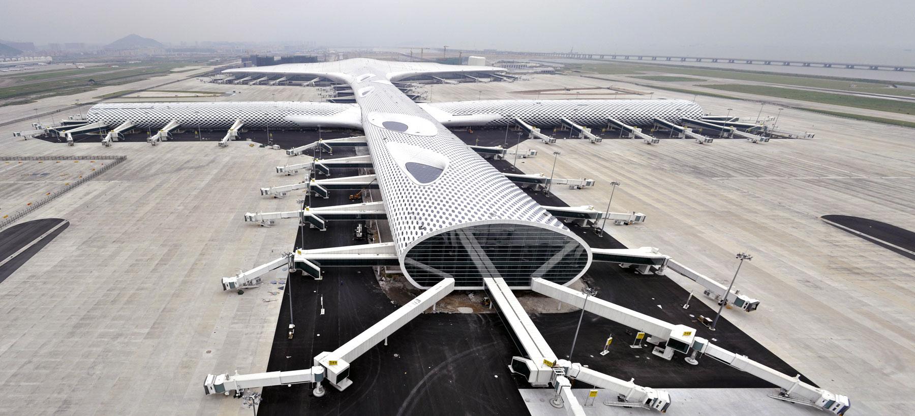 Letiště v čínské metropoli od studia Fuksas