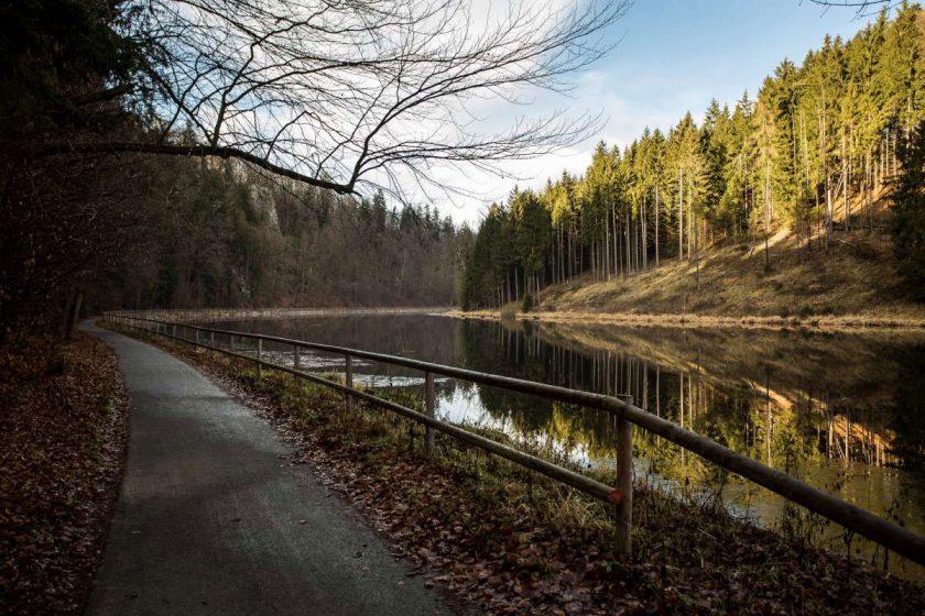 Cyklostezky v okolí Českých Budějovic