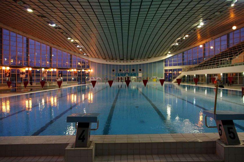 Plavecký stadion v Českých Budějovicích