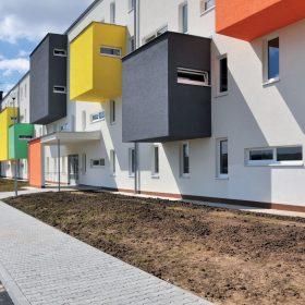 Bytové domy s pavlačí