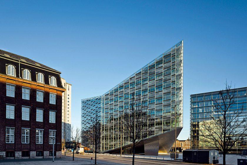 Vznášející se Krystal v Kodani