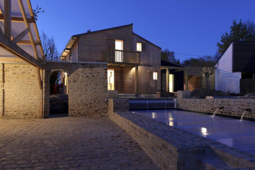 Pasivní dům v Bretani