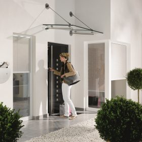 Chytré vchodové dveře s Schüco Door Control System
