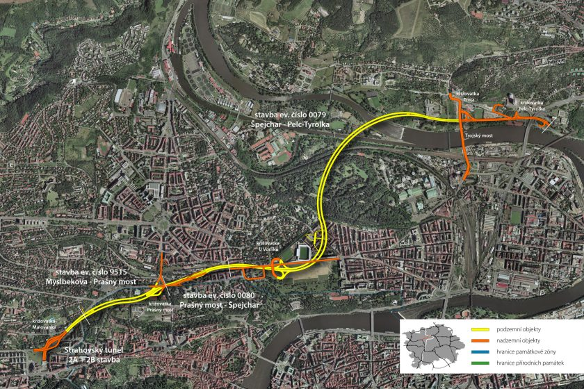Praha nepředloží arbitrům vzájemný návrh ohledně tunelu Blanka
