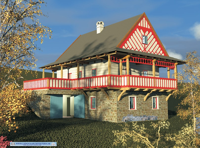 Tradiční lidová architektura v moderní době