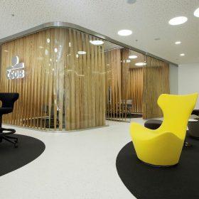 Nový design poboček banky