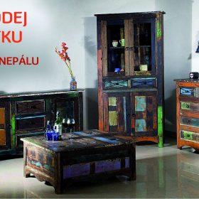 BAZAAR stylového nábytku s atmosférou orientu