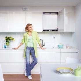 Novinka: Kompaktní systém větrání s rekuperací tepla pro byty
