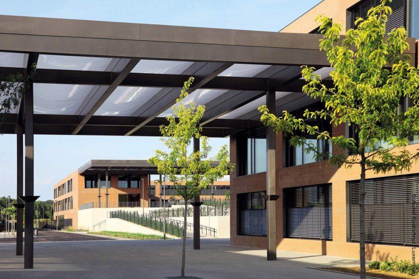 Prosvětlená škola s tepelnou pohodou