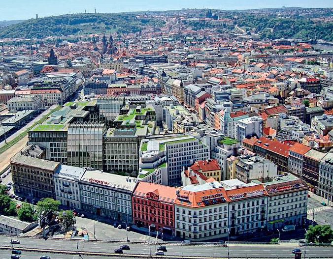 Florentinum: největší kancelářský komplex v Česku