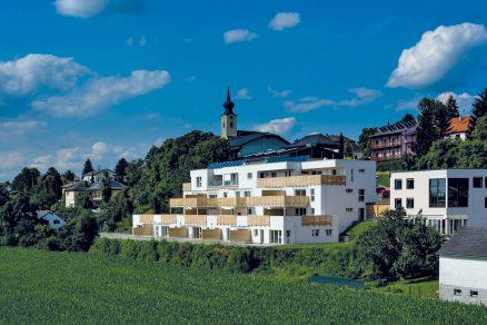 První bytový dům v Rakousku s certifikátem DGNB