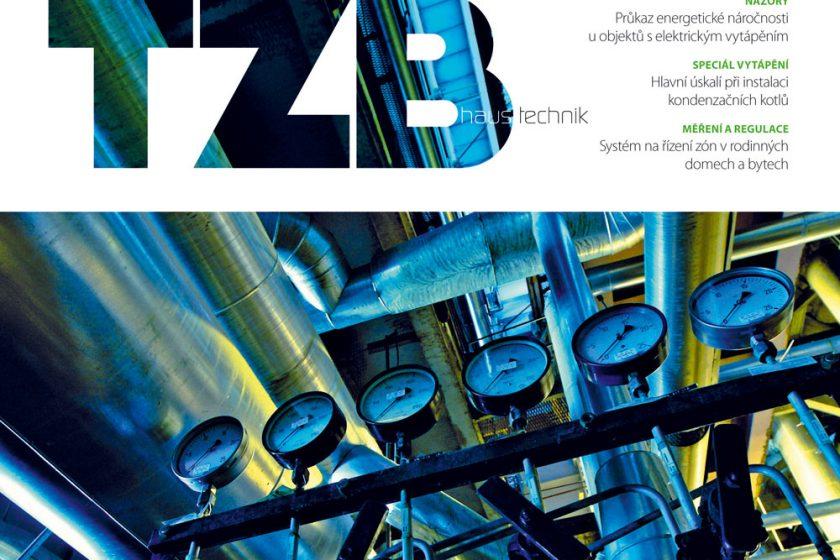 Časopis TZB Haustechnik 1/2014 v prodeji