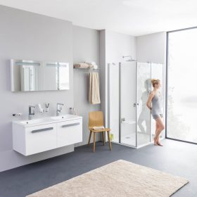 Koupelna v jednotném stylu