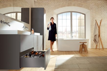 LEGRABOX – elegance v pohybu pro každý nábytek v bytě