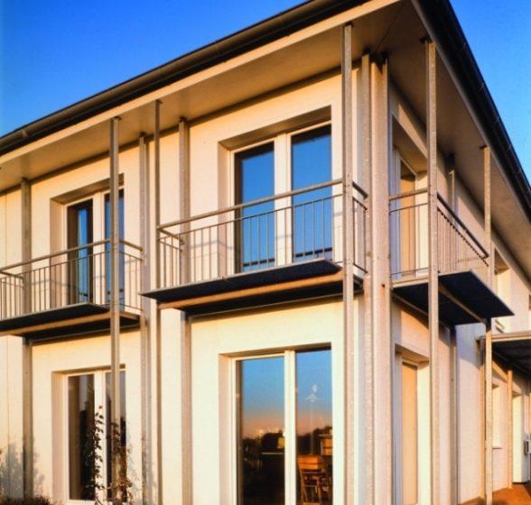 Plastový profil pro energeticky úsporné bydlení