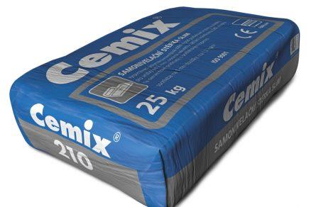 Špičkové samonivelační hmoty Cemix – variabilní použití pro vyrovnání podkladů