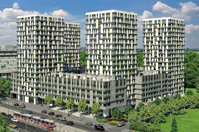 Téměř 700 nových bytů na Žižkově