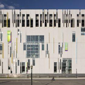 Chladicí zařízení univerzity v Ohiu s certifikátem LEED