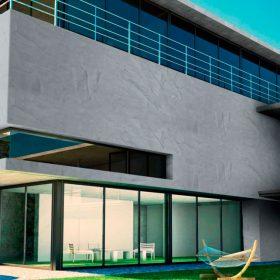 Nová omítka Ceresit Visage nabídne vzhled pohledového betonu