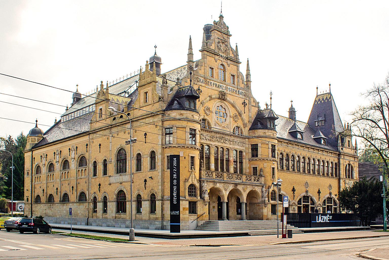 Liberecká galerie z městských lázní