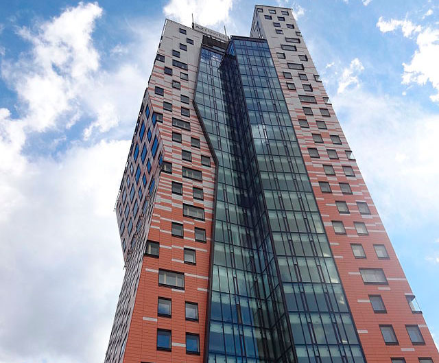 AZ Tower v Brně se dostal do top desítky mezi světovými budovami
