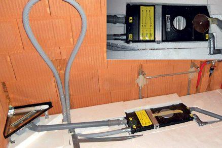 Využití odpadního tepla z vnitřní kanalizace pro předohřev teplé vody