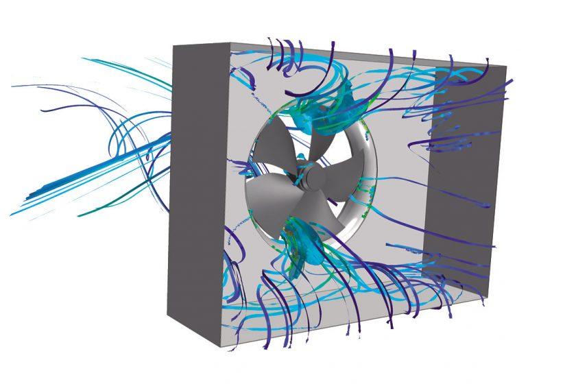 Systém usměrňování proudění zaručuje nízkou hlučnost
