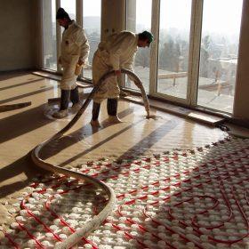 Podlaha, která šetří náklady na vytápění