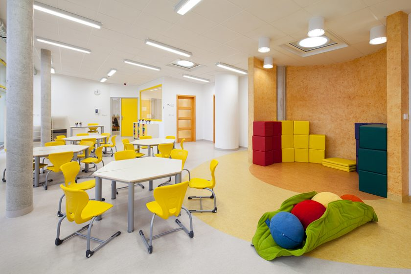 Interiér Mateřské školy Slivenec
