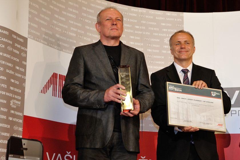 Letošním Architektem roku je Josef Pleskot