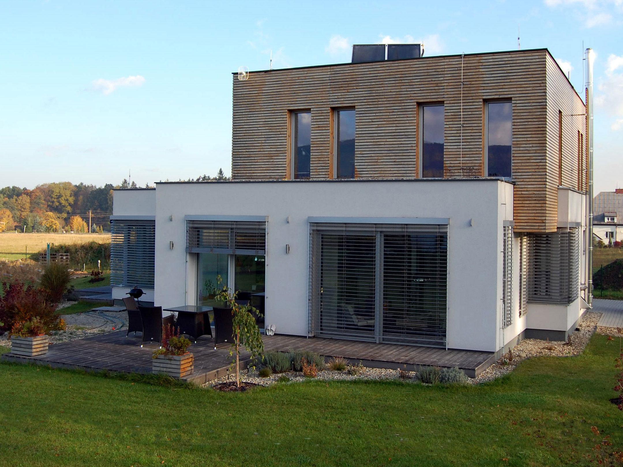 Zdicí systém pro pasivní a nízkoenergetické domy