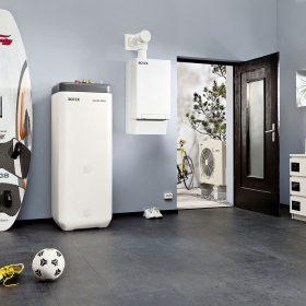 Úsporné vytápění a ohřev vody hybridním tepelným čerpadlem