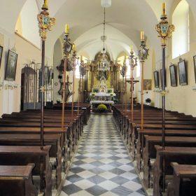Vyhřívání kostelních lavic v kostele sv. Gotharda