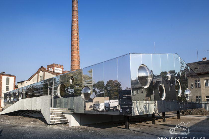 Obec architektů ocenila stavbu z unimo buněk
