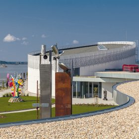Stavbou roku 2014 na Slovensku je Danubiana