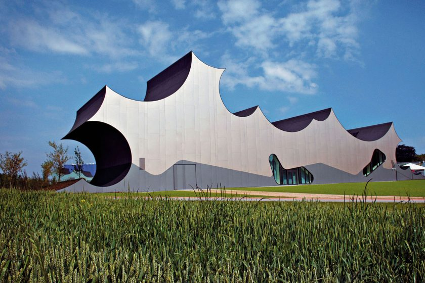 Cumulus je oblak i architektonický skvost