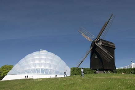 Udržitelný skleník v univerzitní botanické zahradě
