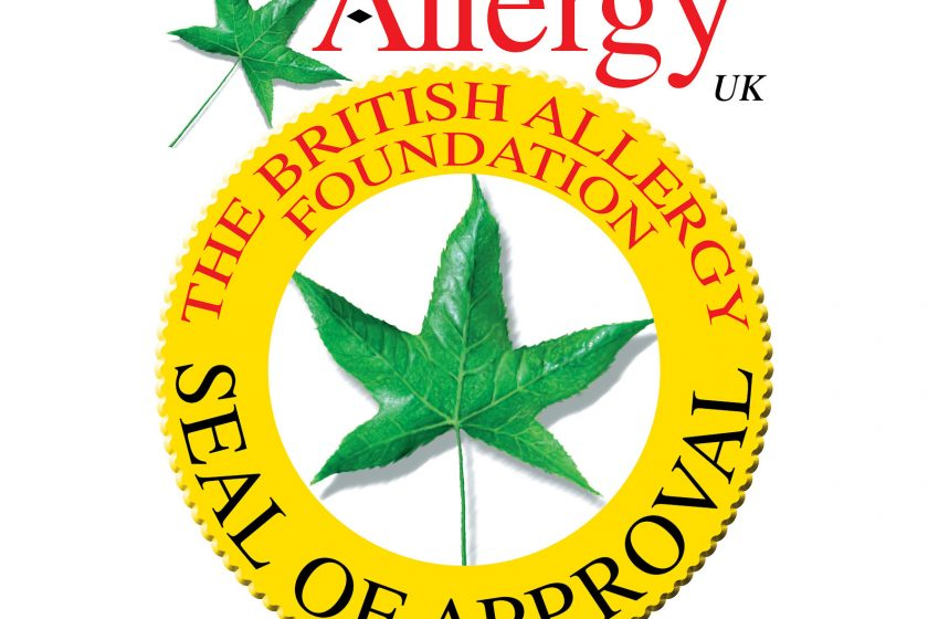 Ocenění kvality Allergy UK pro PANASONIC