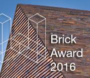 """Nový ročník """"Wienerberger Brick Award 2016"""" otevřen!"""