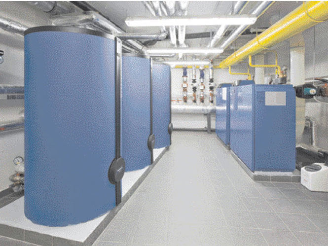 Výměna zdroje tepla při obnově bytových domů
