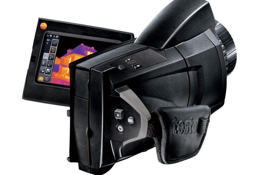 Termokamera pro použití ve stavebnictví