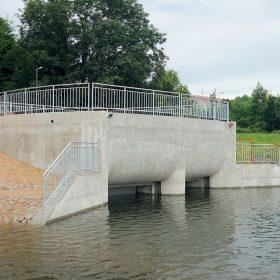 Využití netradičních technologií betonáže na stavbě Vodní dílo Mšeno