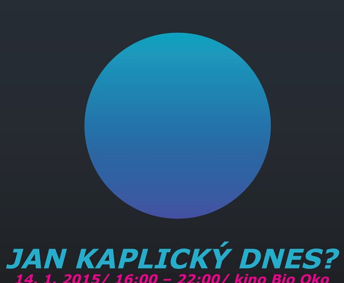 """Komponovaný večer """"Jan Kaplický dnes?"""""""