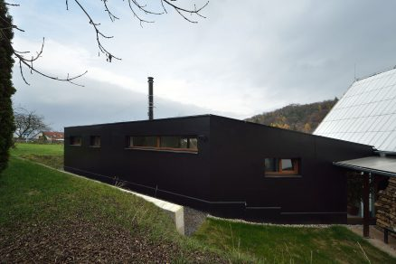 Vyvážená přístavba rodinného domu