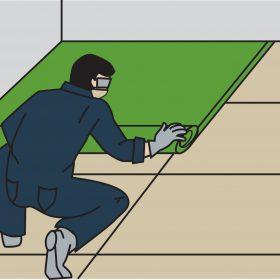 Izolace těžké plovoucí podlahy