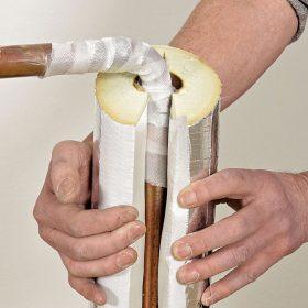 Návrh tepelných izolací pro chladicí rozvody
