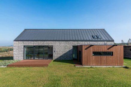 Dům z gabionů – kámen v moderním hávu