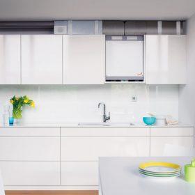 Kompaktní systém větrání s rekuperací tepla do bytu