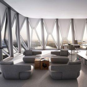 Čestné uznání za design pro parametrickou fasádu Schüco