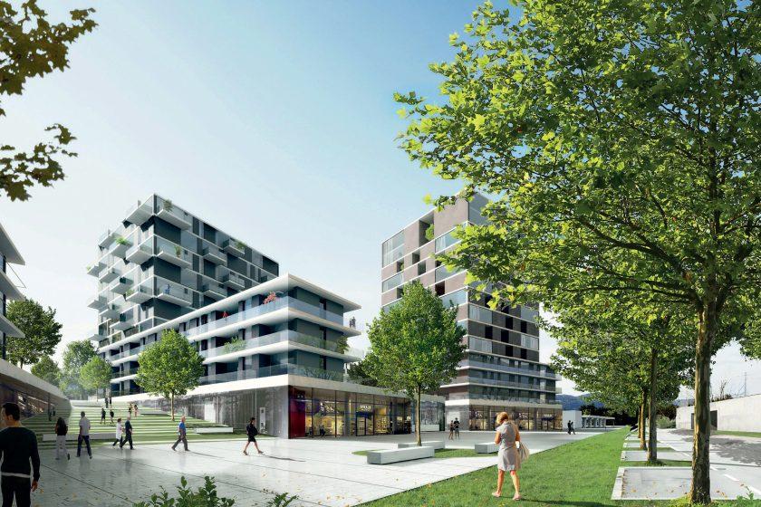 Riverpark Modřany: Nová čtvrť u Vltavy